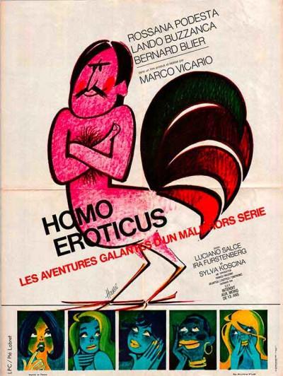 affiche du film homo eroticus