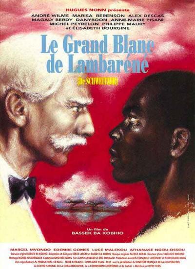 affiche du film le grand blanc de lambarene