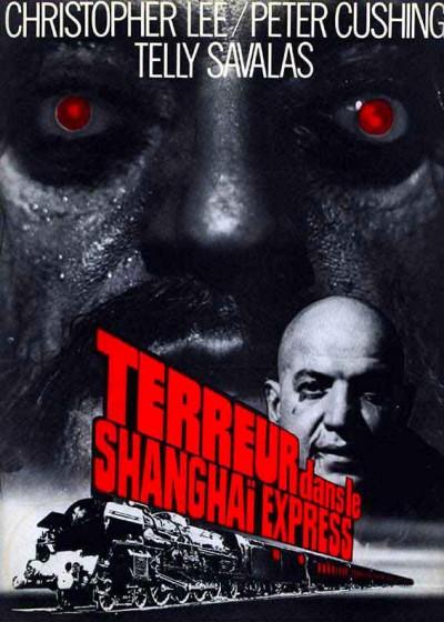affiche du film terreur dans le Shanghai express