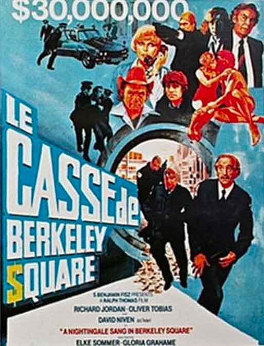 affiche du film le casse de berkeley square
