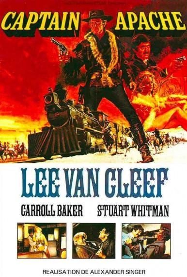 affiche du film Capitaine Apache