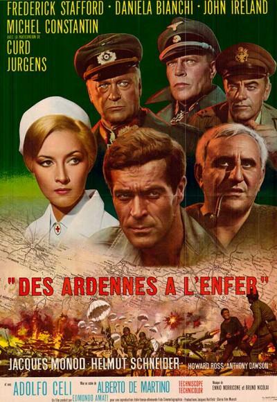 Affiche du film des Ardennes à l'enfer