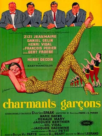 affiche du film charmants garcons