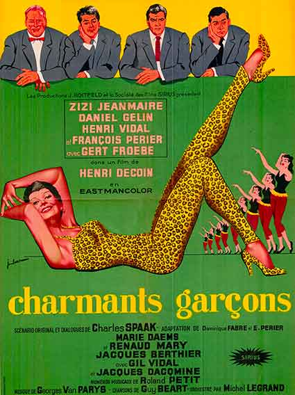 Affiche du film charmants galons