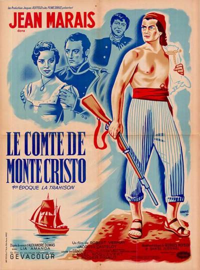 affiche du film le comte de monte cristo episode 2