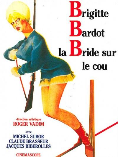 affiche du film la bride sur le cou