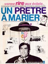 affiche du film un pretre a marier