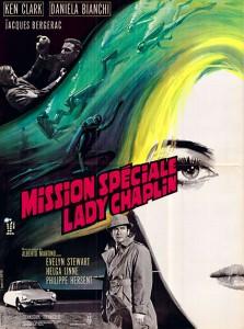 affiche du film mission spéciale lady Chaplin