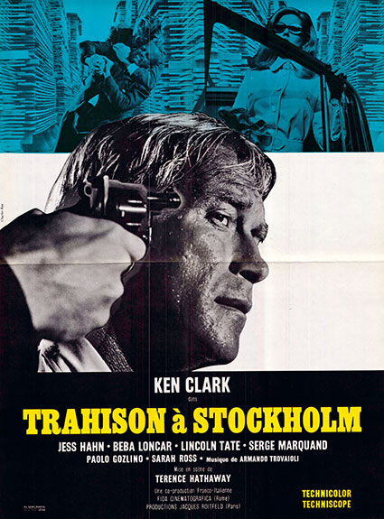 affiche du film trahison à Stockholm