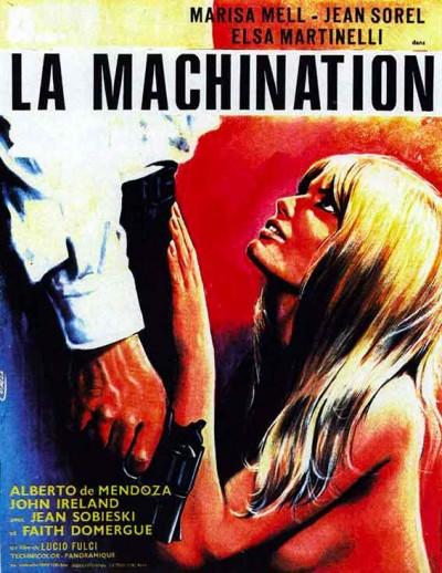 affiche du film la machination