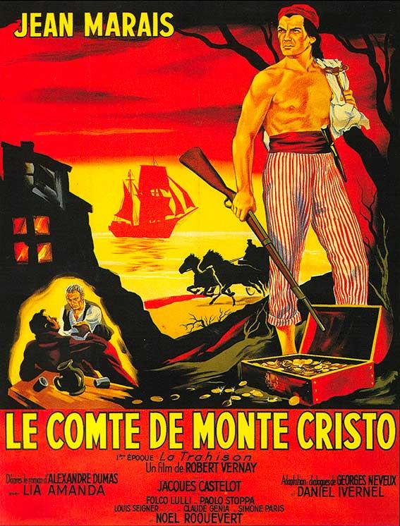 Affiche du film le comte de monte cristo episode 1