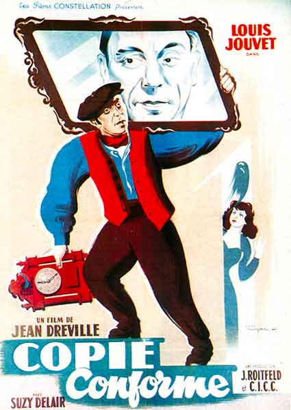 affiche du film copie conforme