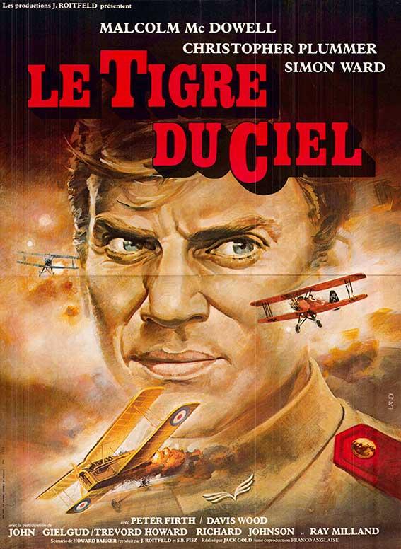 Affiche du film le tigre du ciel