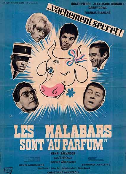 affiche du film les malabars sont au parfum