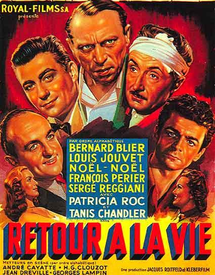 Affiche du film retour a la vie