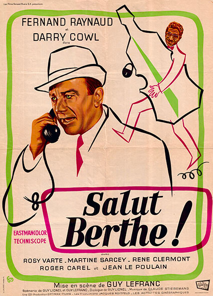 affiche du film salut berthe